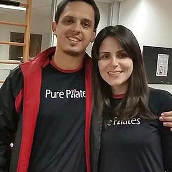 Pure Pilates - Douglas e Ligia