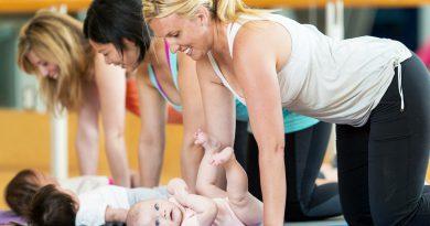 Baby Pilates: conheça o método para mães que acabaram de dar à luz