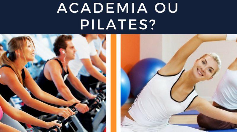 pilates ou academia