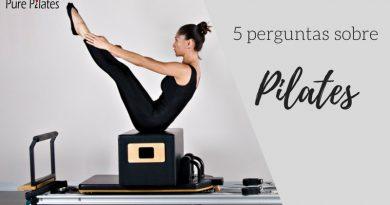 5 perguntas sobre Pilates