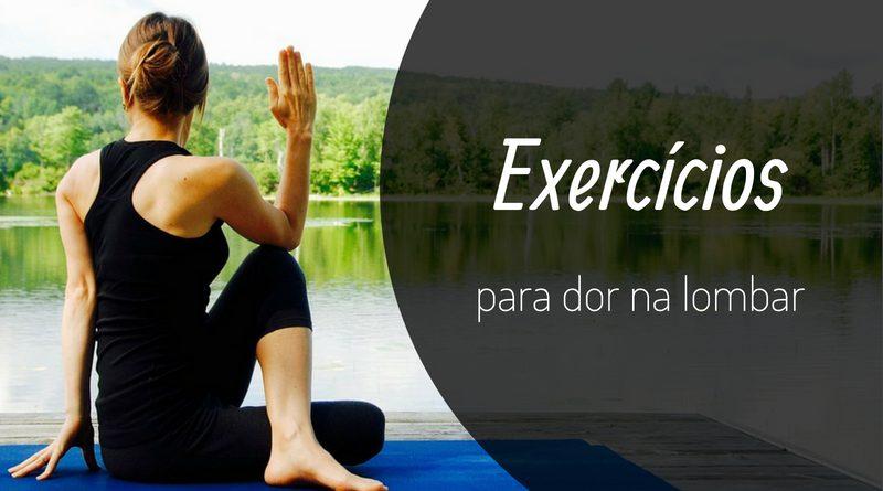 exercícios para dor na lombar