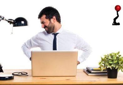 Como eliminar as dores de trabalhar sentado o dia todo?