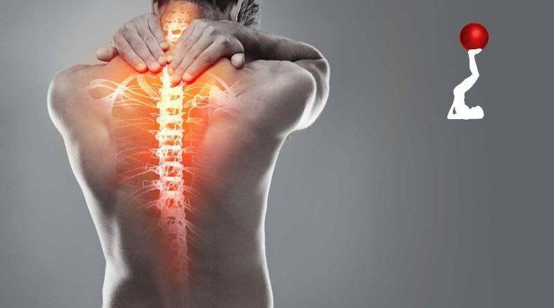 diminuir dores na coluna